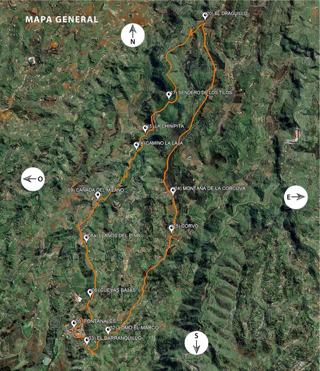 Ruta 04: Fontanales - Los Tilos (bco. Laurel)